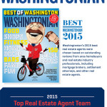 Ray Gernhart & Associate's Named Top Real Estate Agent Team by Washingtonian 2015